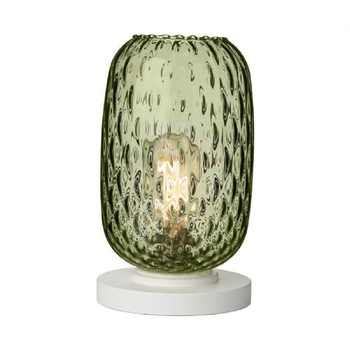 Vidro Table Lamp Green Glass Small VID4224 (Hand made, 7-10 day Delivery)
